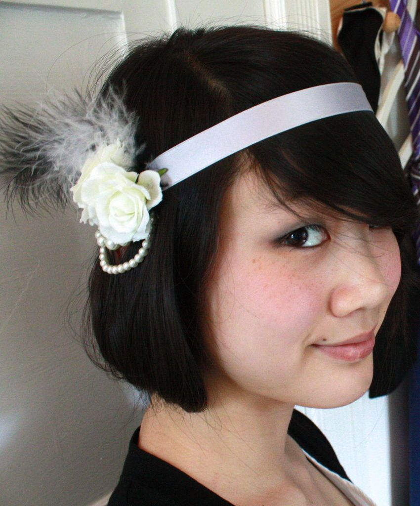20ies inspired hairband  hairstyle  beauty  jewelry  headband f6de8d5ab5d