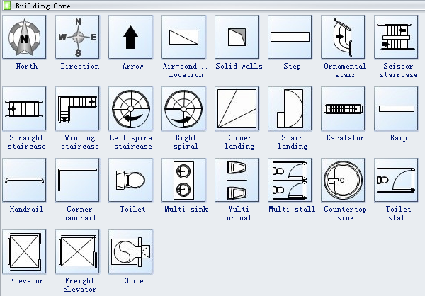 Floor Plan Symbols In 2019 Floor Plan Symbols Floor