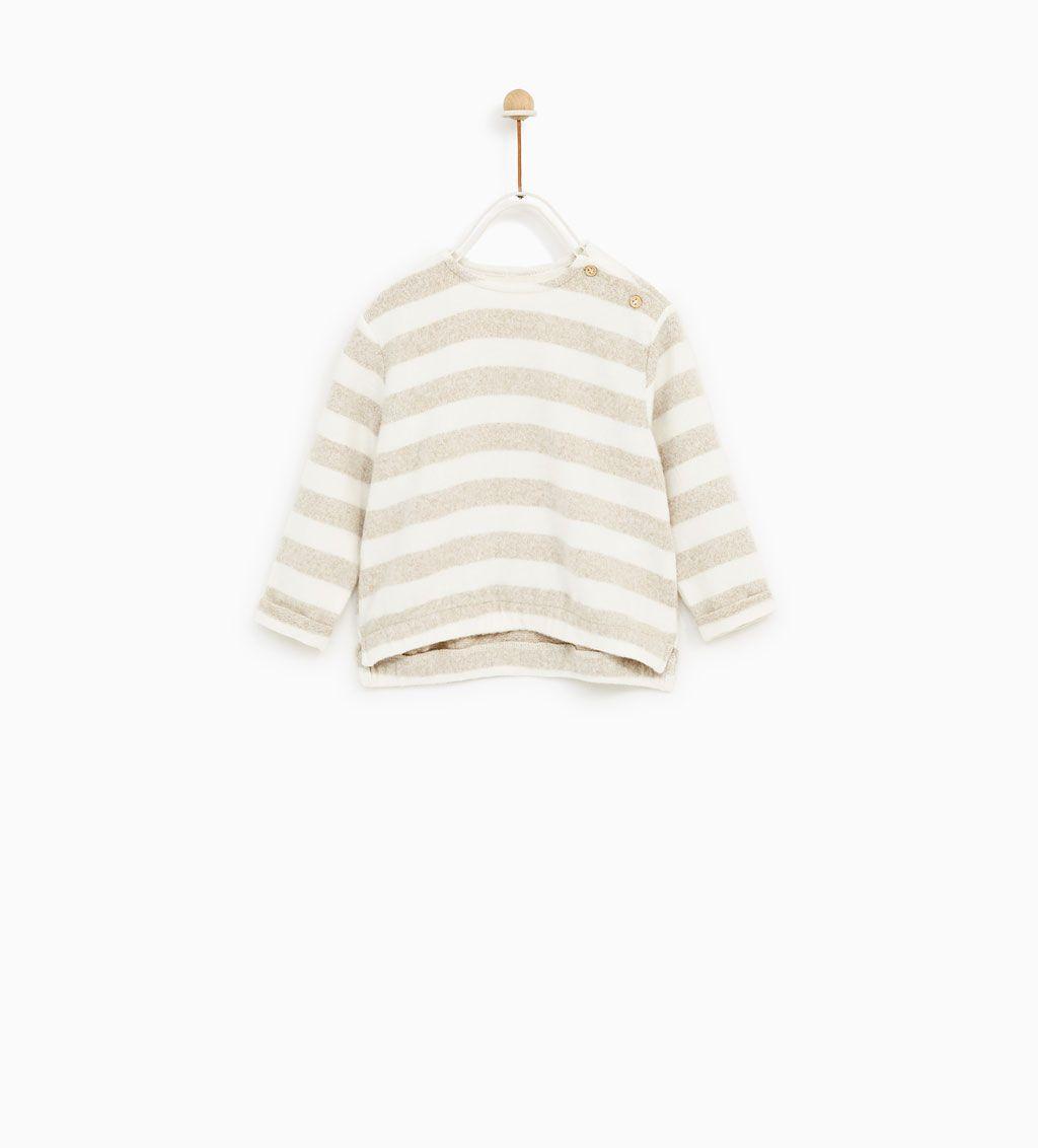 bene nuove immagini di vendita calda Immagine 1 di FELPA A RIGHE QUALITÀ SPECIALE di Zara ...