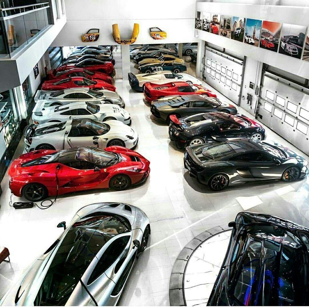 Dream Garage Bugatti Pagani Lamborghini Porsche Aston