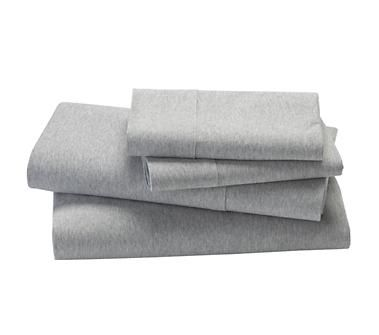 Kids Bedding Grey Jersey Sheet Set