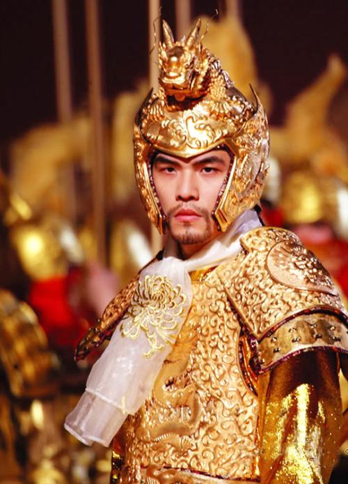 "fuckyeahcostumedramas ""Jay Chou in 'Curse of the Golden"
