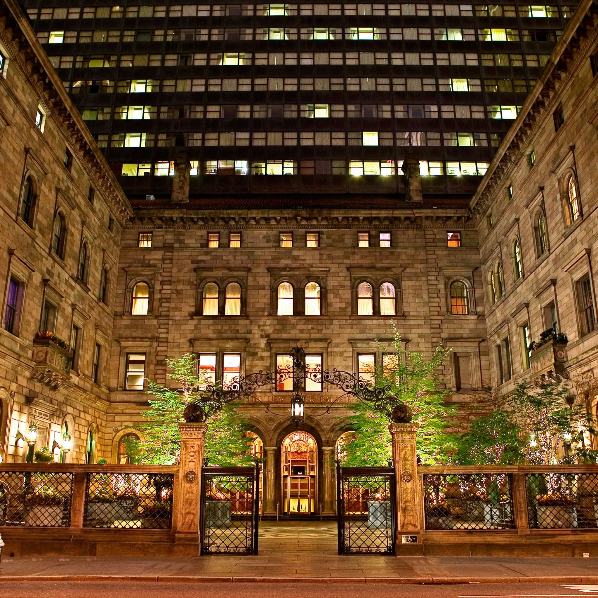 Can T Wait To Spend Christmas Here The New York Palace Manhattan