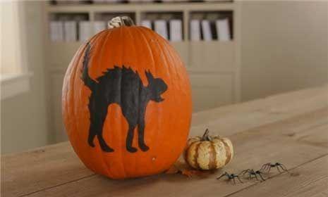 Homemade Halloween Decorations from Better Homes  Gardens wwwbhg - homemade halloween decorations