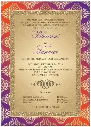 Collection Of Beautiful Designs In Gorgeous Colours Indian Wedding Invitations And Links To Budget Ideas Outfits More