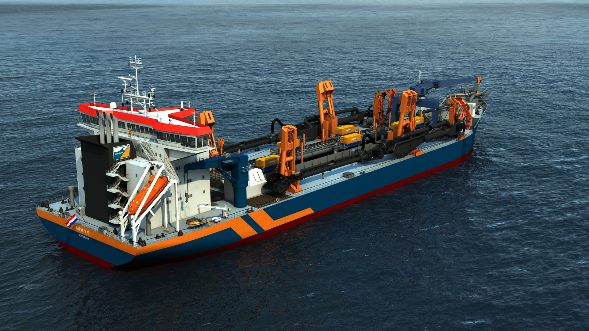 Dutch dredging major Van Oord has ordered two trailing suction
