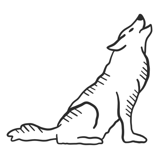 Wolf Howl Ear Predator Tail Doodle Ad Ad Aff Ear Doodle Tail Howl Wolf Howling Doodles Predator