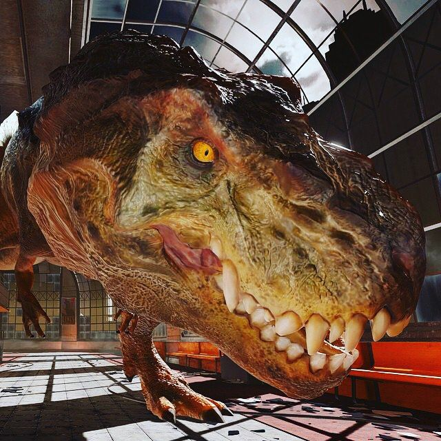 By virtualrealitygames: When all of a sudden T-REX in ya