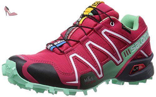 Salomon Speedcross 3 GTX, Chaussures de Trail femme Rouge