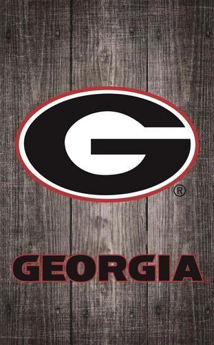 Georgia Bulldogs Uga Wall Art Distressed Gray Wood Plaque Georgia Bulldogs Grey Wood Bulldog