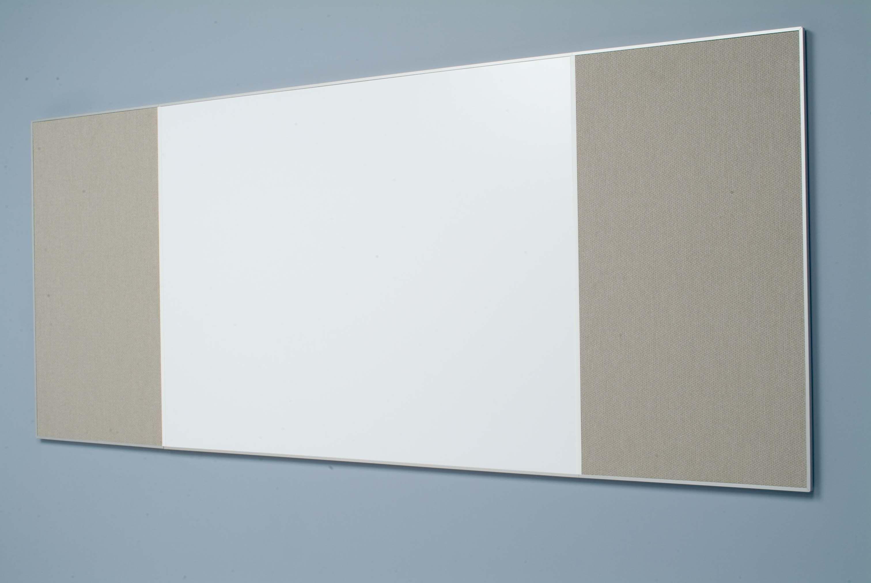 Egan Linked Aluminum Frame Markerboard/Tackboard