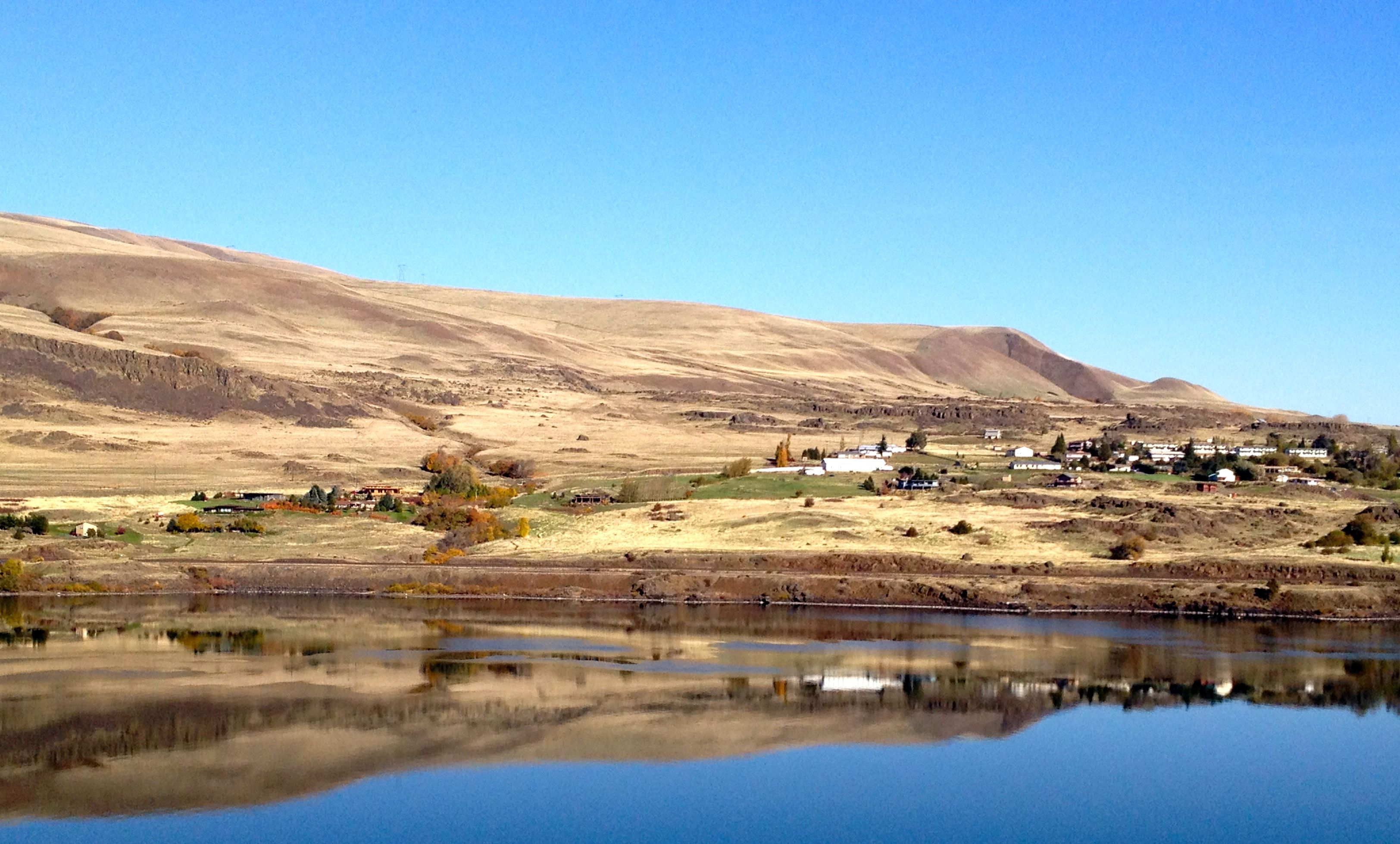 View from The Dalles Pacific northwest, Oregon, Natural