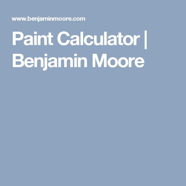 Paint Calculator Benjamin Moore Benjamin Moore Colors House