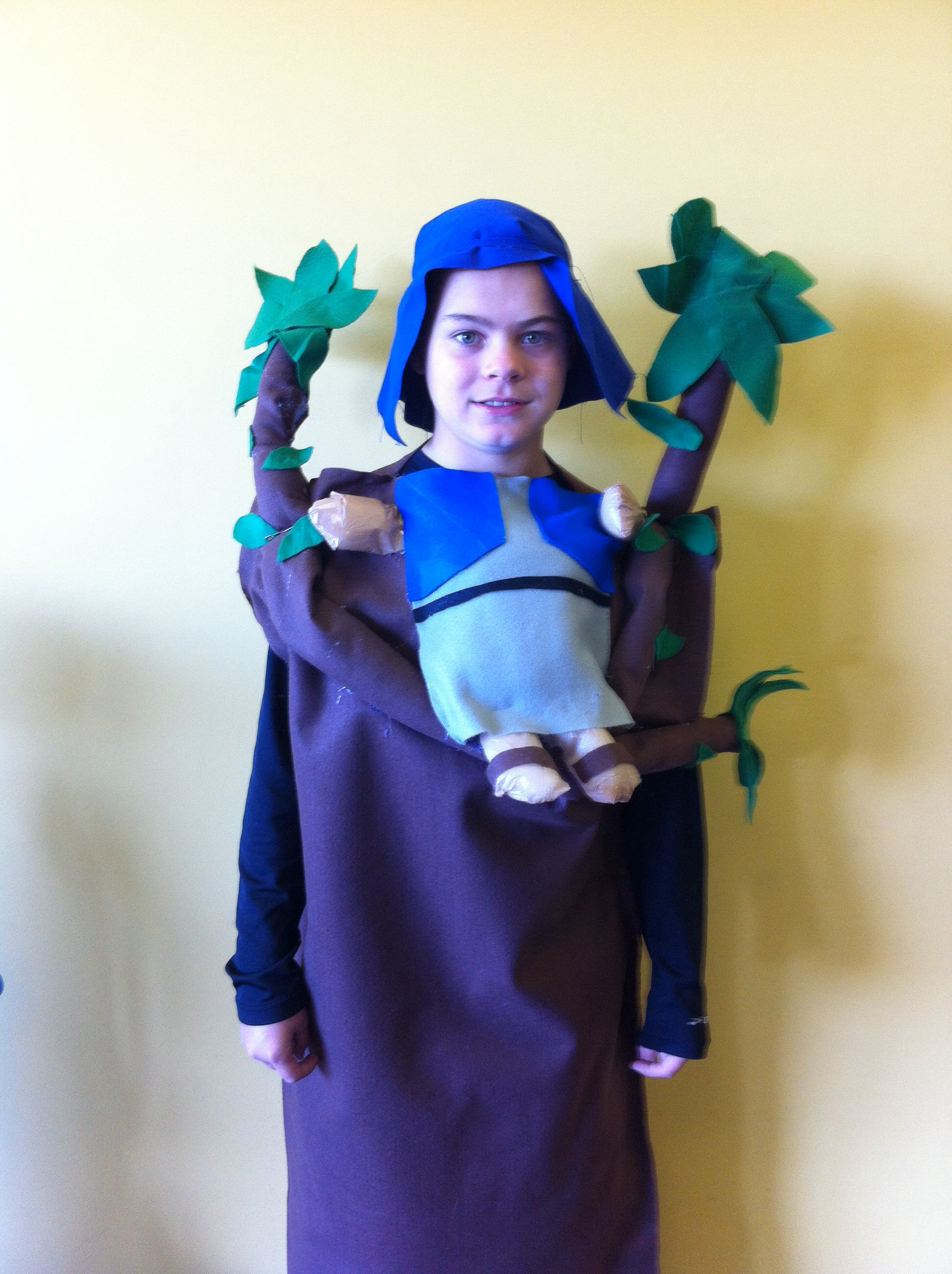 Our Homemade Zaccheus Costume For Church Messy Church Costumes
