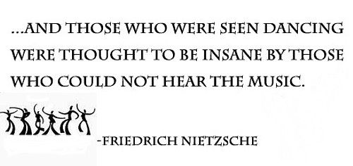 Hear the music | Philosophy quotes, Clever quotes ...