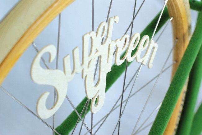 Vélo Design SuperGreen de Swabdesign - #Design - Visit the website to see all photos http://www.arkko.fr/velo-design-supergreen-de-swabdesign/