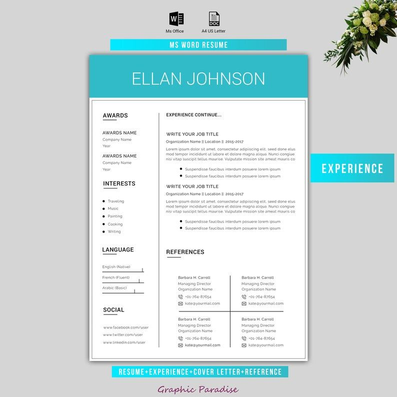 40+ Beautiful Free Resume Templates to Download Right Now