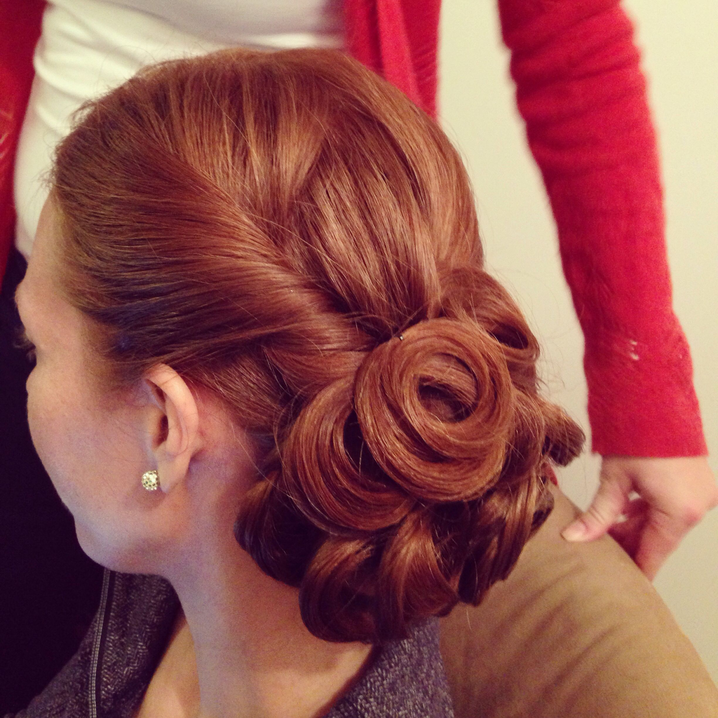 Bridal Hair Updo, Bridesmaid Hair Updo
