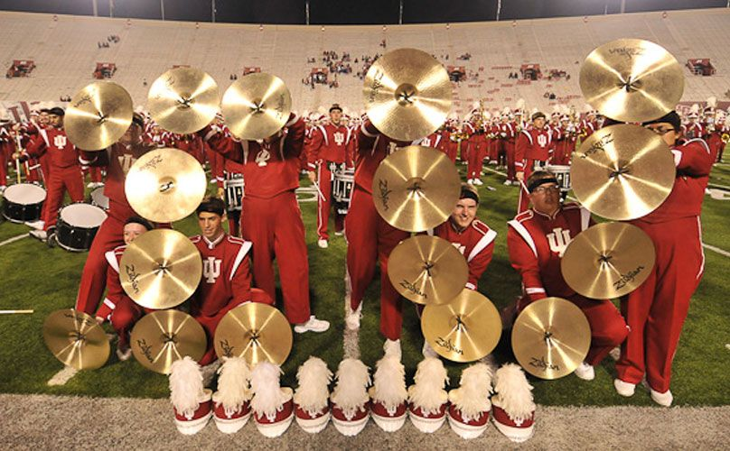 The Marching Hundred is awesome!!! ) Indiana university