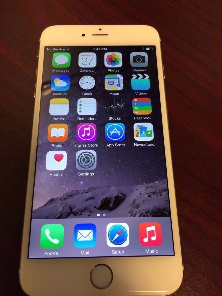 Apple iPhone 6 Plus Gold - 64GB - Gold (AT&T) Smartphone Looks *NEW* #Apple