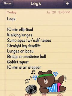 Leg day workout! This one is killer!