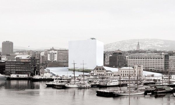 National Museum of Art, Architecture and Design, Oslo, 2010. Competition finalist