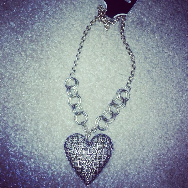"""I Love """"Me"""" Charm Necklace!  Free Shipping - All Handmade Accessories - visit www.imuniqaccessories.com"""
