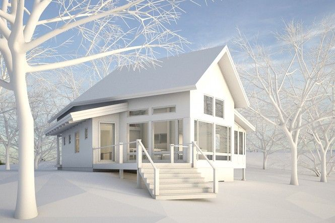 Timberframe Cabin Plans New Energy Works Postcard Of