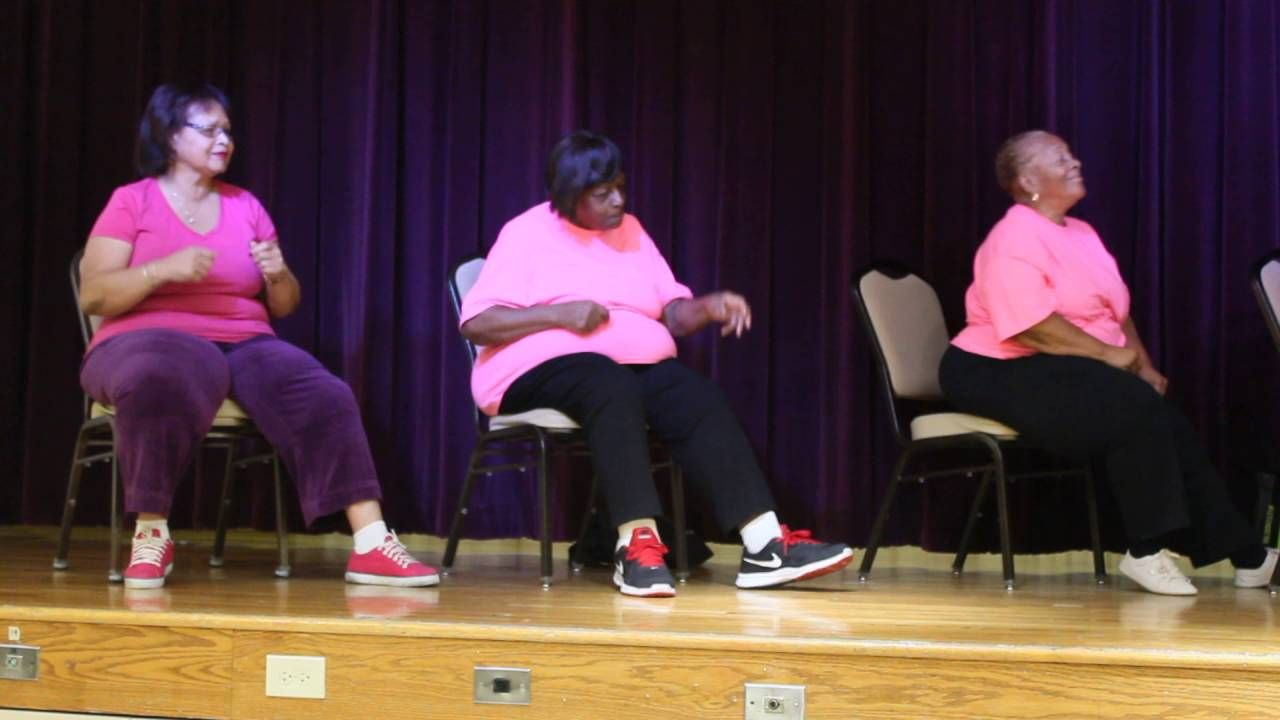 Chair Zumba With Lili Youtube In 2020 Zumba Strength Training Exercise