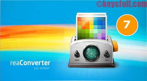ReaConverter Pro 7.241 Crack Activation Key
