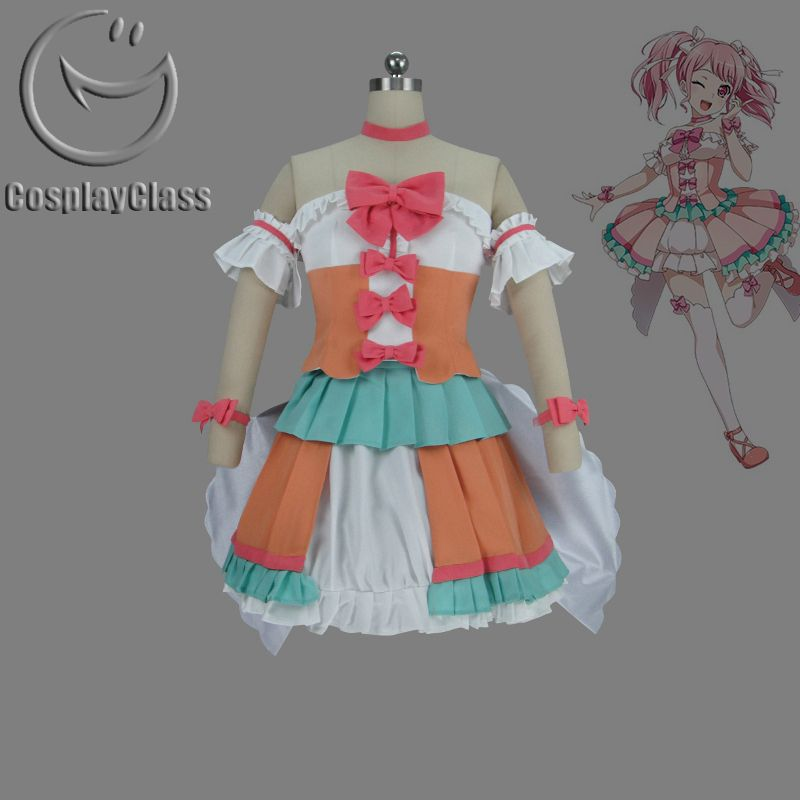 BanG Dream! Maruyama Aya Cosplay Costume #MaruyamaAyacosplay #BanGDream #cosplayclass #costume : bang dream costumes - Germanpascual.Com