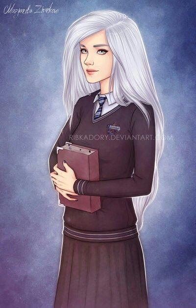 Ravenclaw Girl Harry Potter Anime Harry Potter Artwork Harry