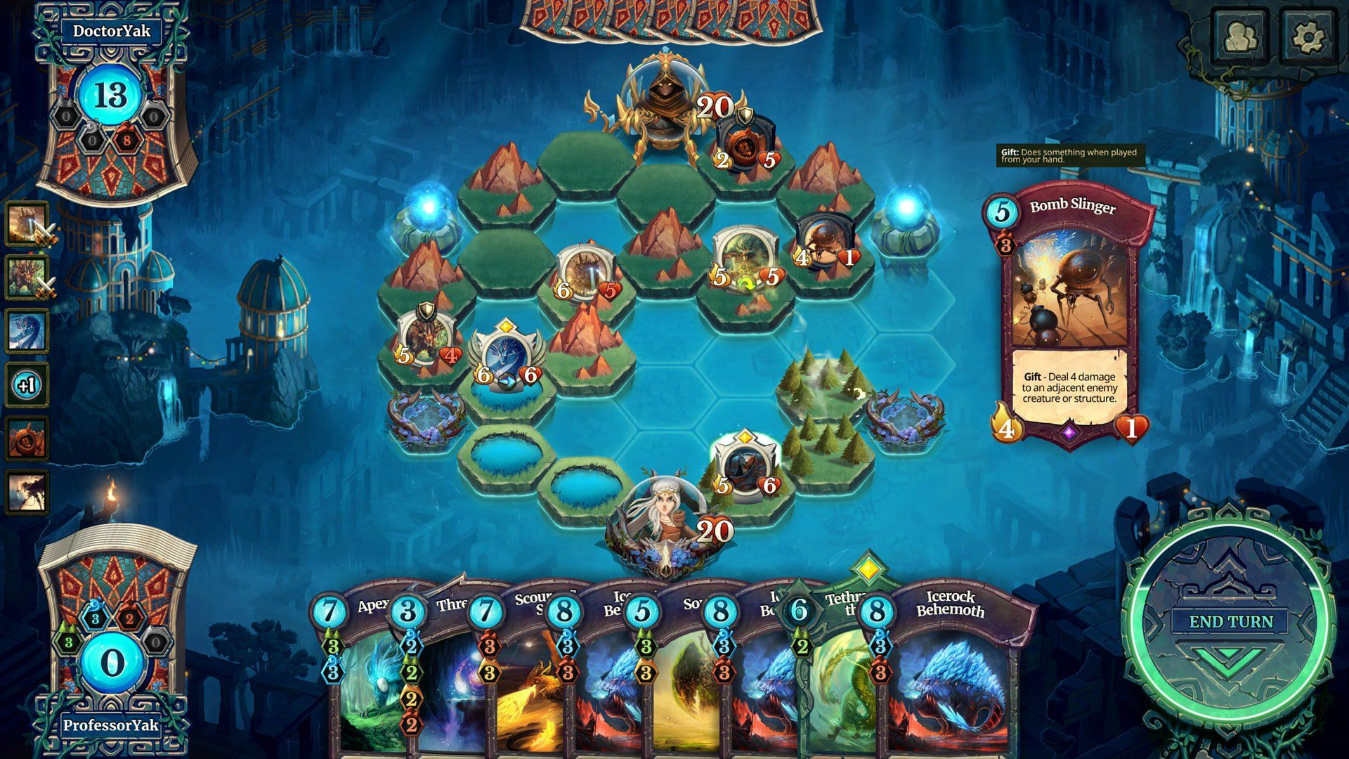 Faeria's First Expansion, Adventure Pouch Oversky
