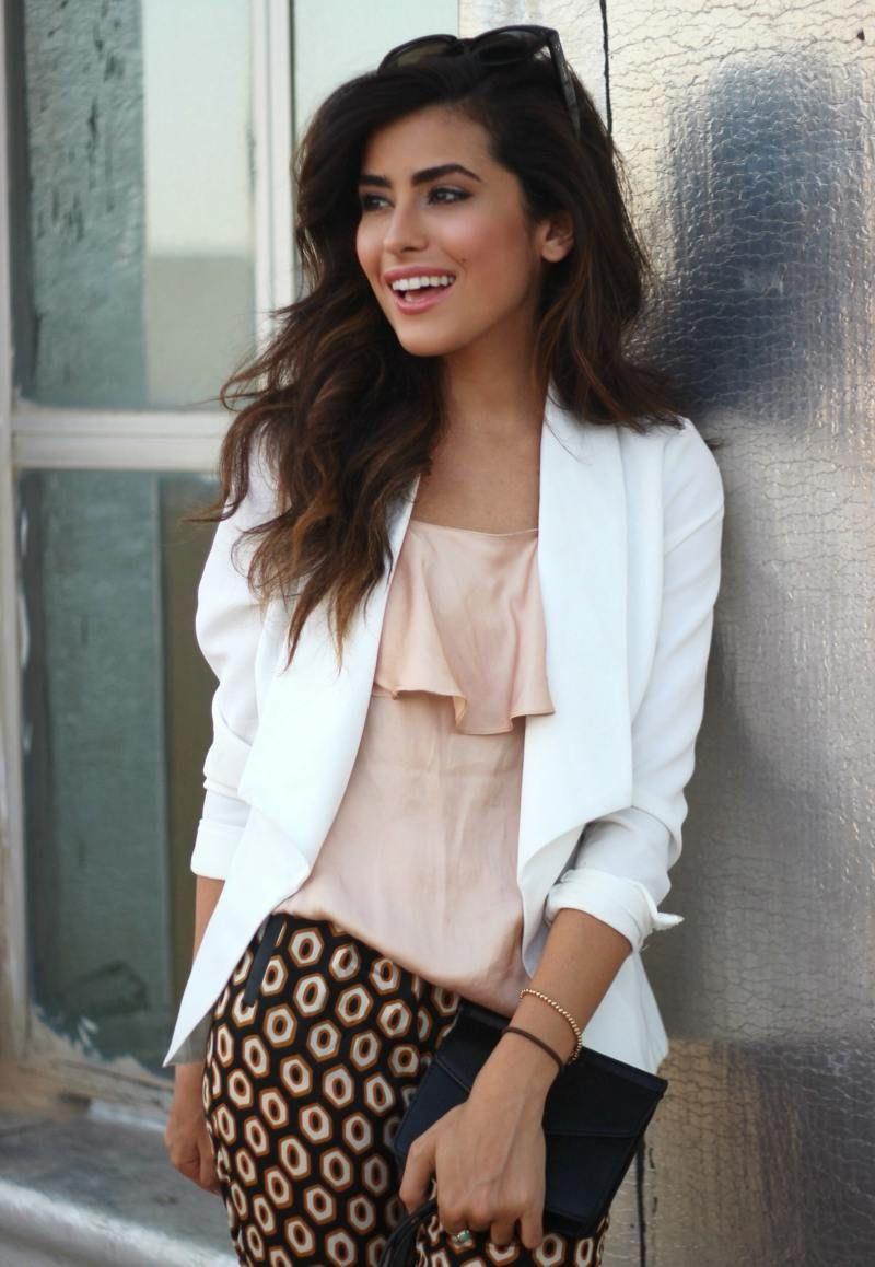 28 unglaubliche Sommer Outfits mit weißem Blazer