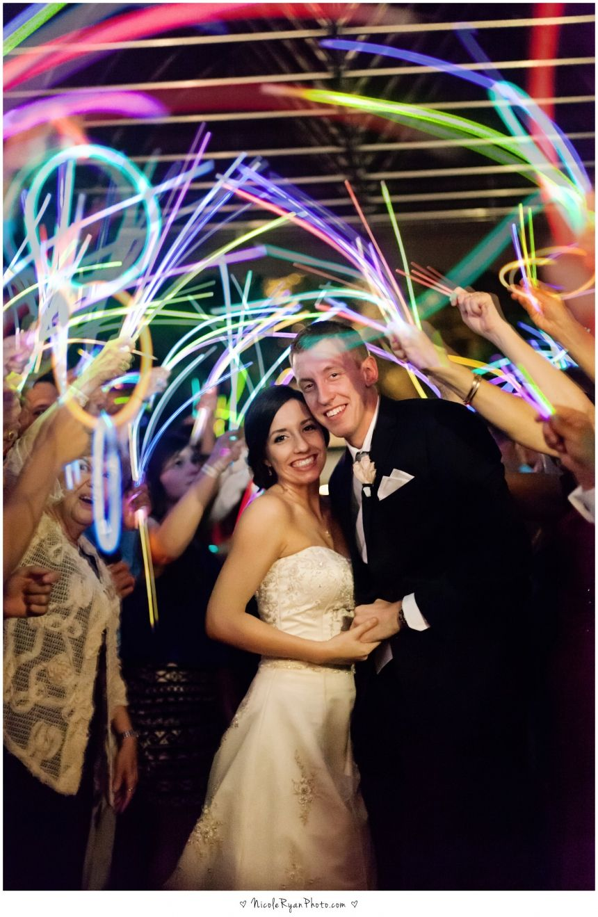 Great exit shot with the glow sticks! • Follow Maude and