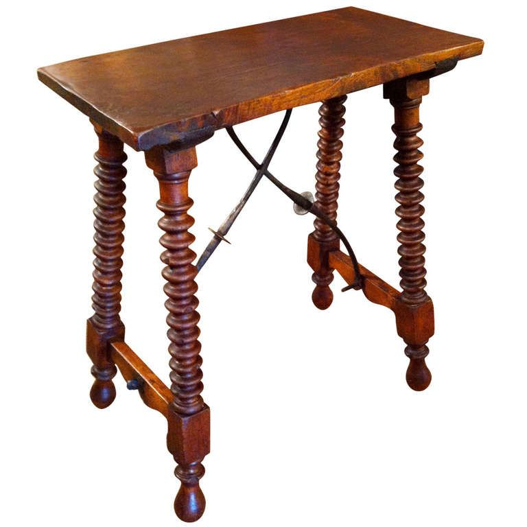 High Quality Spanish Baroque Side Table
