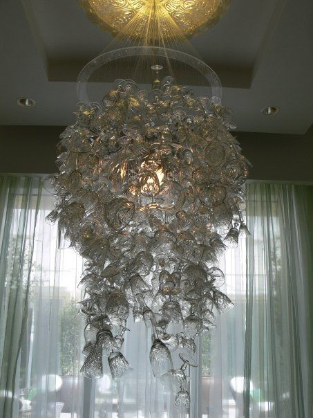 Eau A Day At The Spa Beautiful Chandelier Los Angeles Design