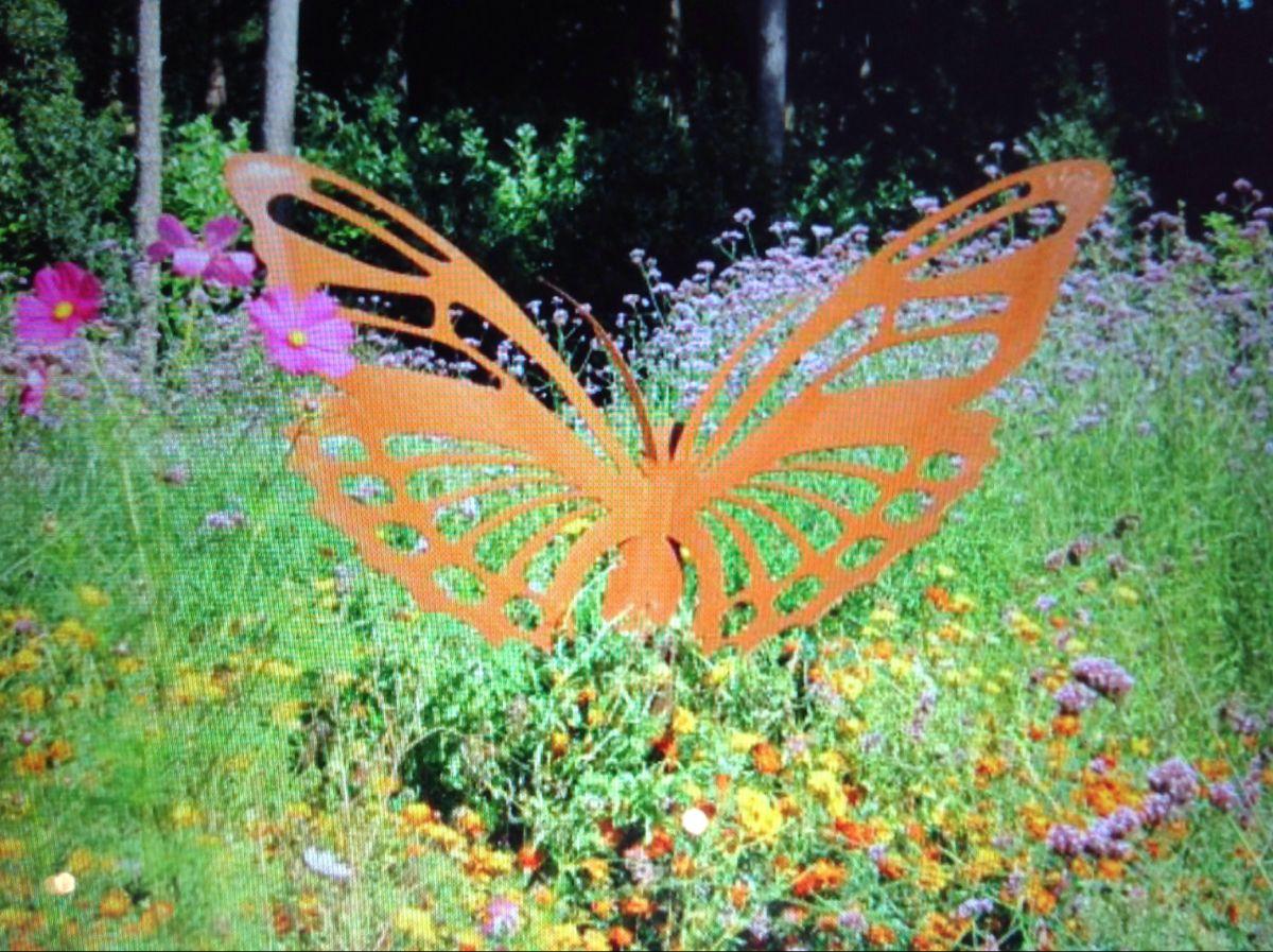 Tuin Vlinders Decoratie
