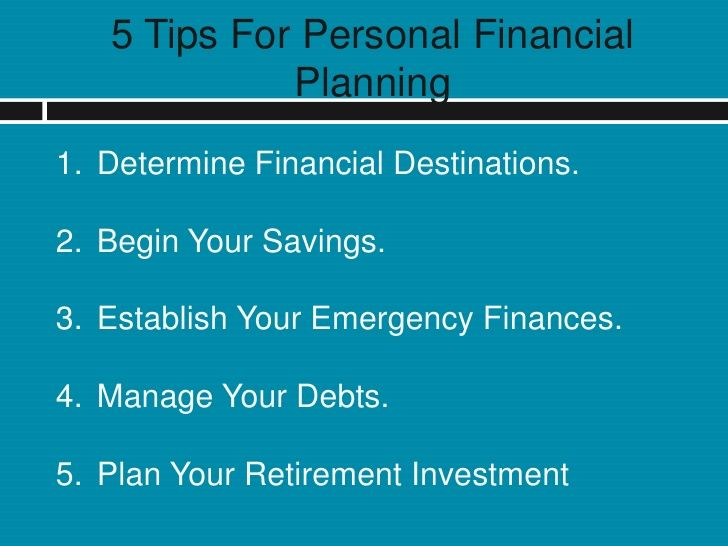 Get tips for #Personal #Financial Planning http://www.slideshare.net/ethenhunt10/get-tips-for-personal-financial-planning#