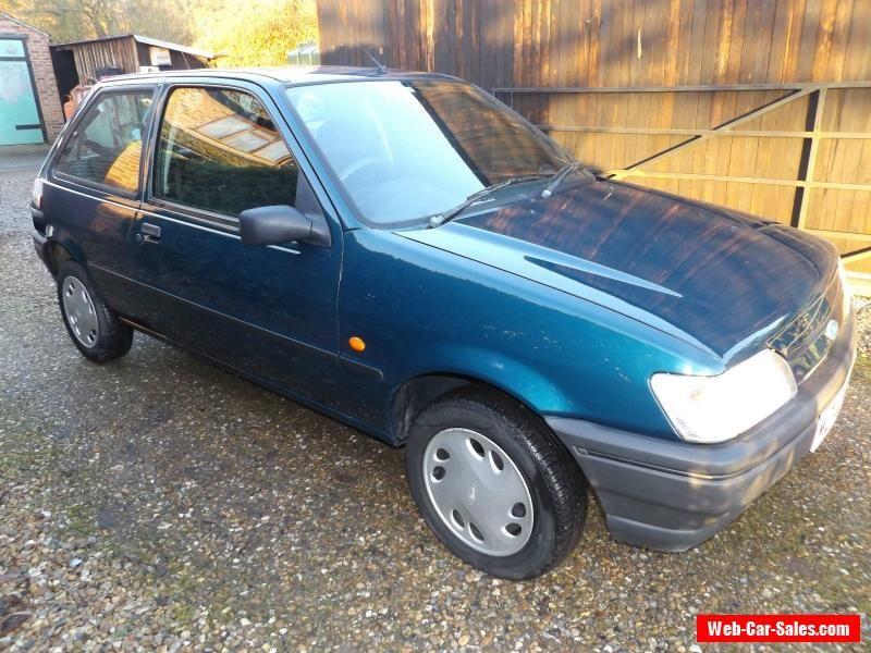 1995 Ford Fiesta Lx Cvt Blue Mk3 1 3 Automatic 3 Door Green Blue