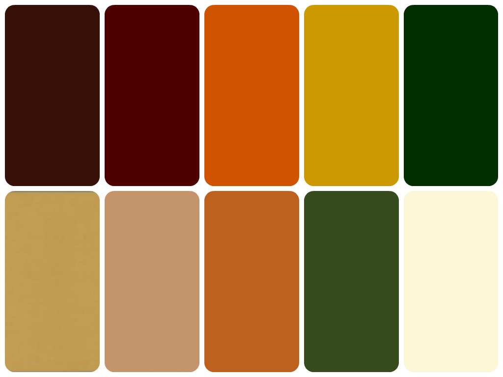 Colors Muted Earthy