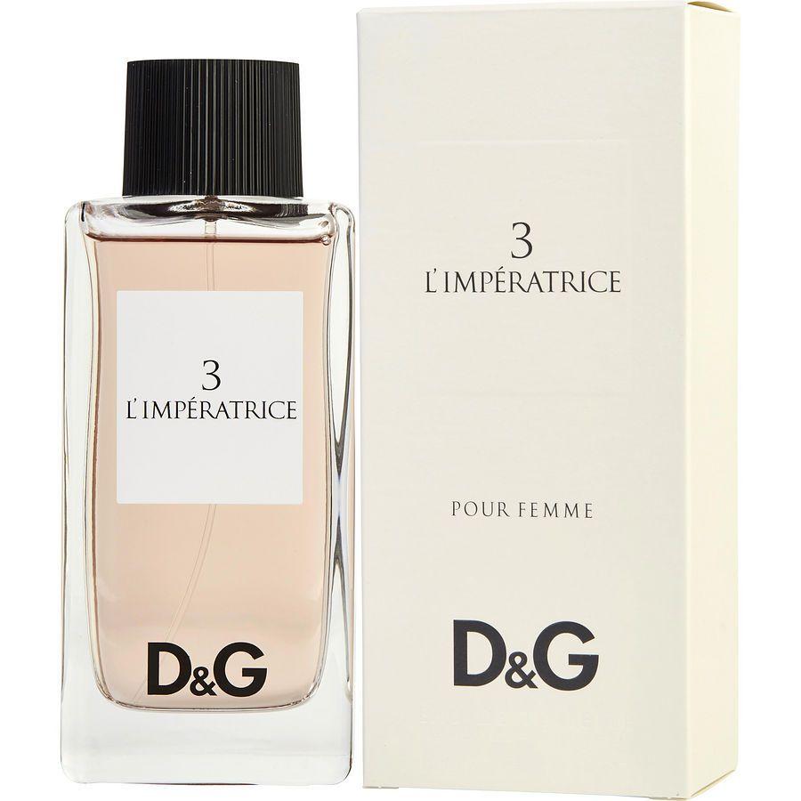 Dolce Gabanna 3l Imperatrice Perfume Luxury Perfume Fragrance Set