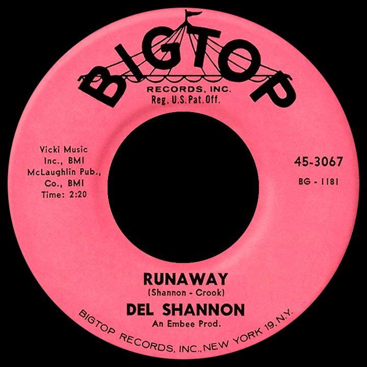 Runaway Del Shannon 1961 Del Shannon Music Memories Oldies Music