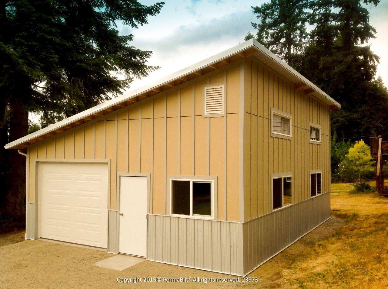 Home Building A Pole Barn Garage Style Pole Barn Builders