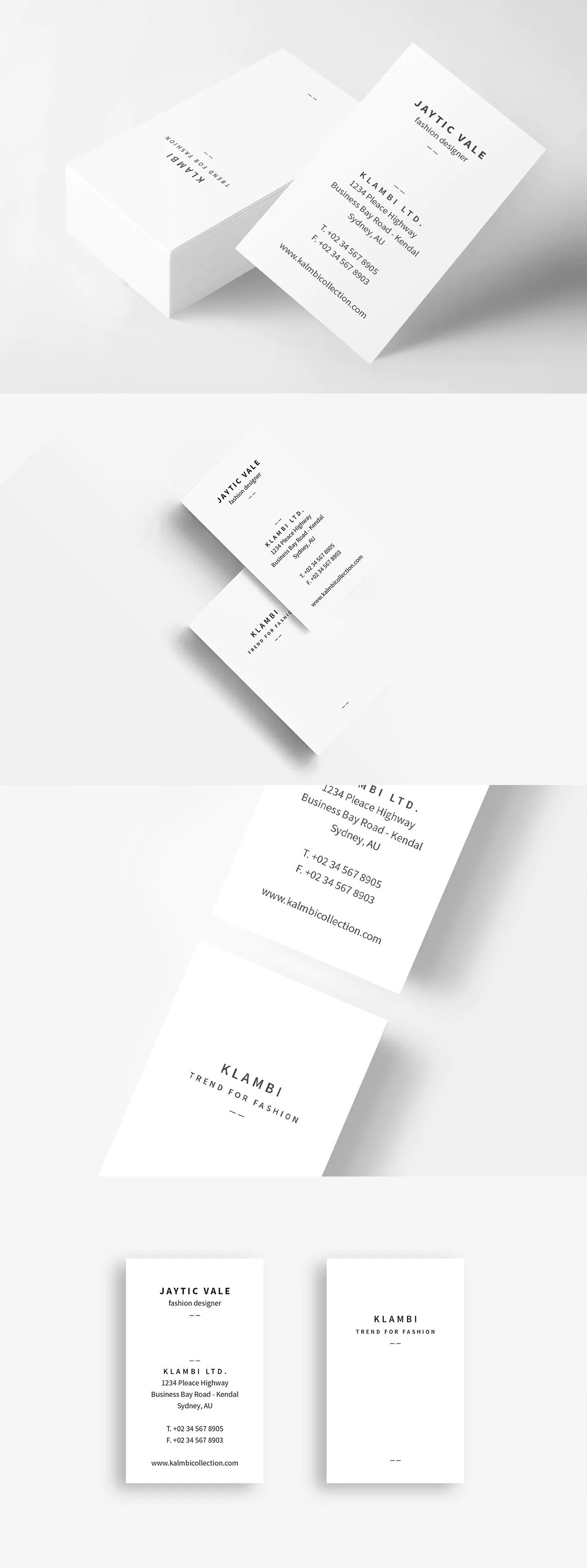 Business Card Template InDesign INDD | Business Card Tempaltes ...