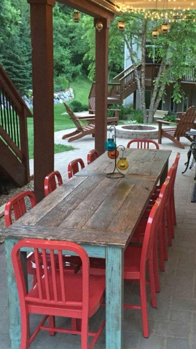 Pin de Ms. Grace en Farmhouses | Pinterest | Mesa silla, Decoración ...