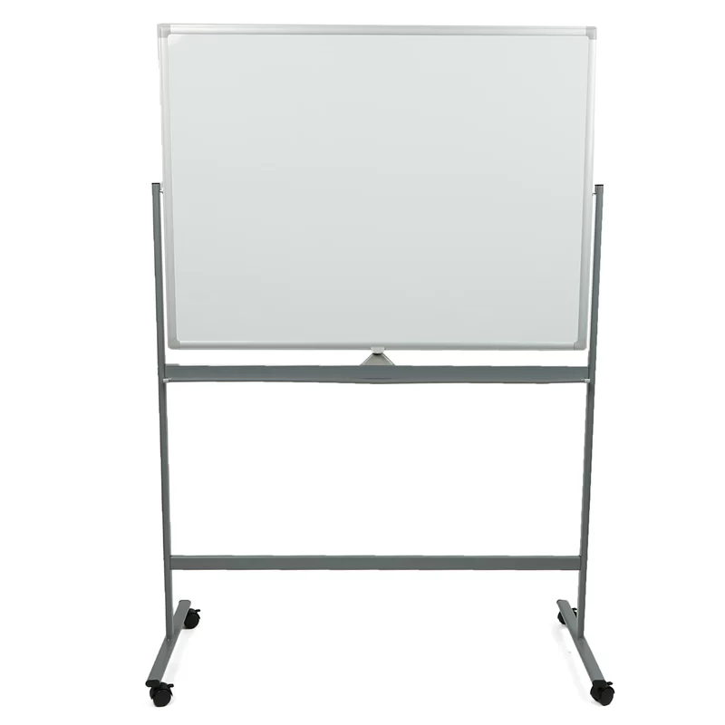 Cain Portable Dry Erase Double Sided Easel Magnetic Free Standing Reversible Whiteboard 49 25 X 73 In 2020 White Board Magnetic White Board Dry Erase