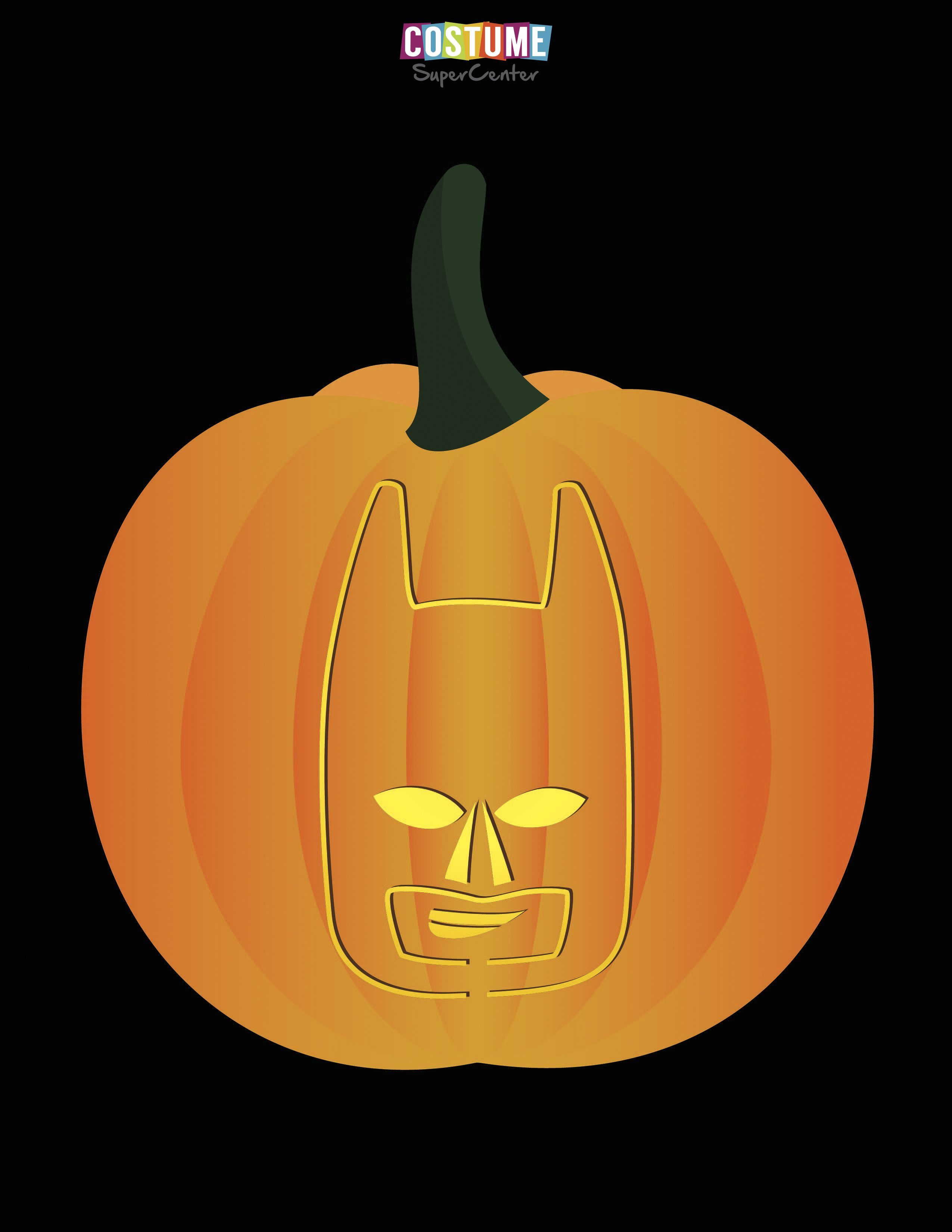 Lego batman pumpkin carving stencils batman pumpkin for Batman pumpkin carving templates free