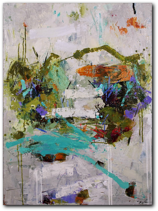 Abstract Artist, Conn Ryder, Abstract Expressionism, Colorado Abstract Paintings