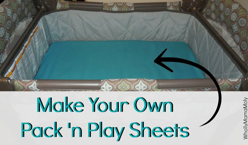 Countdown to Baby | DIY Pack 'n Play Sheets | Baby number 2 is ...